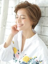 ショコラナンバ(Chocolat NAMBA)大人女性★ジェンダーレスショート★とろみアッシュ