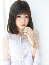 アグ ヘアー スリール 岡山下中野店(Agu hair sourire)透明感溢れる☆小顔スウィートバング