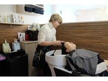 ヘアリゾート ルアーナ エルア(Hair Resort LUANA `elua)の雰囲気(極上ヘッドスパで癒しのひと時を―…☆)