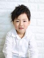 ベンケイ(HAIR AVENUE benkei)キッズ × アップバング × ナチュラル