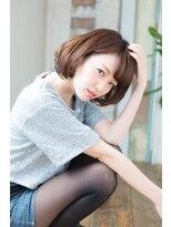 アリシアヘアー(ARISHIA hair)【ARISHIA hair 那珂】丸みショート 小顔 ナチュラルボブ ♪