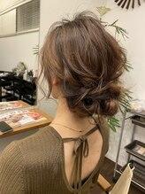 オルガ ヘアアンドメイク(Oluga hair&make)パーティアップ