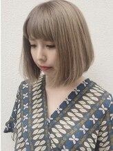 トリプルエイチ(HHH for hair)グレージュ☆ブラントボブ