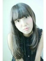 ロベック フジガオカ(Lobec FUJIGAOKA)【Lobec fujigaoka】サラサラロング☆ぱっつん前髪♪