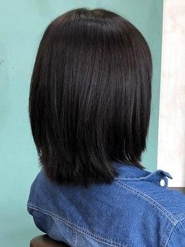 ヘアークラブユニオン(HairClubUNION)の写真/「雨の日は髪の毛がまとまらない・・・」そんな悩みを解消★ストレートとわからないような自然な仕上がり♪