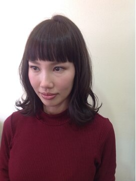 ニコ ヘアーアンドメイク(nico hair&make)ショートバング ミディアム