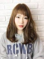 ヘアーアンドリラックス スウィート(Hair&Relax SWEET)斜め前髪/SWEET/星野知美