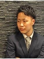 プレミアムバーバー 原宿店(PREMIUM BARBER produce by HIRO GINZA)清潔感◎スーツ男前ヘア<理容><原宿>