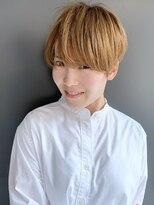 ラウンジ モリオ イケブクロ(Lounge MORIO Ikebukuro)【morio池袋】可愛くて色気のあるハンサムマッシュショート♪