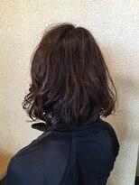 ヘア デザイン アウルム(hair design aurum)お手入れ簡単ふわゆるボブ