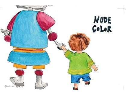 ヌードカラー(NUDE COLOR)の写真