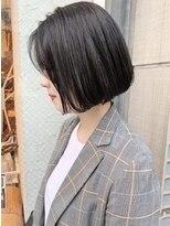 ロッジ 原宿店(RODGE)【nana】切りっぱなしボブ ワンレン 大人ボブ