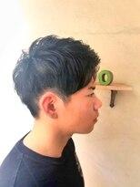ヘアーメイク アフィーノ(hair make affino)アップバングstyle