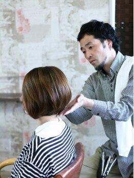 マカリィ 巣鴨店(hair&make Makalii)の写真/ボブ&ショートなら【Makalii】にお任せ☆こだわりのCUT技術であなたに合ったスタイルに仕上げます!