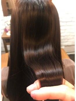 フィフス ヘアー(FIFTH hair)の写真/ツヤツヤな髪になれる場所。褒められること間違いなし!FIFTHカット+話題のTOKIOトリートメント初回¥6,000☆