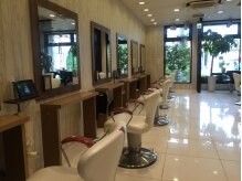 アース 三郷店(HAIR & MAKE EARTH)の雰囲気(清潔感溢れる癒しの空間でうっとりするひと時を【EARTH三郷店】)