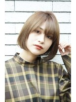 ルージュ(Rouge)(米倉和寿】フェミニン 大人かわいいワンレンボブ