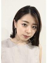 ビューティーサロン ジャック(Beauty Salon JYACK)ナチュラル外ハネ(ミディアム)       JYACK横浜東口