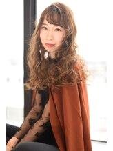 ヘアーデザイナーズサロン エイダ 筑紫野店(hair designers salon A.DA)ランダムふわっとカール♪