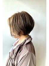 ナチュラル ヘアーデザイニング(Natural hair designing)大人可愛い丸みあるショートボブ #今泉ショート 宇都宮 栃木