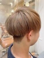 クラシコ ヘアー(CLASSICO hair)刈り上げマッシュ×ハイトーンミルクティー