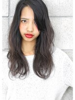 ヘアサロン ガリカ 表参道(hair salon Gallica)『 ダークグレージュ 』 × 『 外国人クセ毛風 』semi-long☆