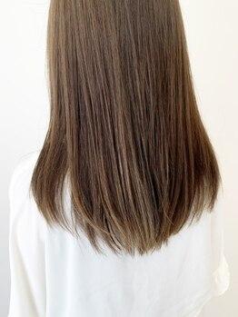 """トリート ヘアデザイン 妙典店(TREAT HAIR DESIGN)の写真/ダメージレスで""""艶髪""""を叶える♪毛先にカールをプラスできるストカールも人気_妙典"""