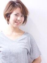 """ヘアメイクエシェル 野々市店(Hair Make e‐shell)""""summer  short style"""""""