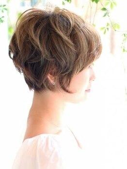 サラヘアー(sarah hair)の写真/のびても可愛いが長持ちするヘアが人気☆毎日お洒落を楽しむ女性のためのサロン♪弱酸性美容法もオススメ☆
