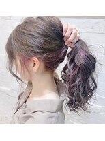 クラシコ ヘアー(CLASSICO hair)インナーカラー パステルヴァイオレット