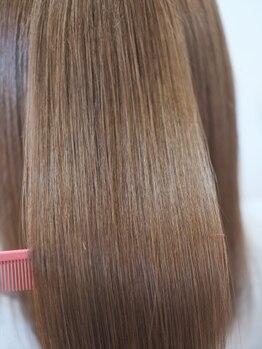 セックヘアデザイン(Sec hair design)の写真/【Sec.オリジナル髪質改善メニューで美髪を手に入れてみませんか?】まとまりやすい理想のStyleが叶う☆