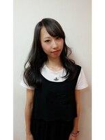 ポッシュ 原宿店(HAIR&MAKE POSH)外国人風アッシュグレーカラー