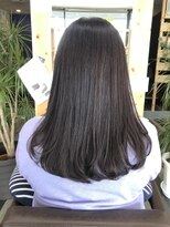 ヘアーガーデンロルド(hair garden Rold)ナチュラルなストレートは、その人に合わせてカスタム可能!
