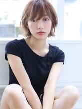 バイオレット 表参道店(Violet)【Rui】夏は小顔に見せる外ハネセンシュアルショート
