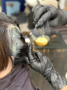 グラッシーオブヘアー(glassy of hair)の写真/大人女性のお悩みもしっかりとしたカウンセリングで解決へと導きます!繰り返すカラーで最高のオシャレを♪