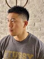 ヨシザワインク プレミアム 築地店(YOSHIZAWA Inc. PREMIUM)【ヨシザワ聖路加】短髪男子!ソフトモヒカンフェード