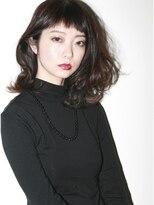 サロン ヴィ(Salon V)暗髪×ショートバング×大人グラム