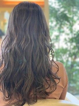 ヘアアンドビューティー ジャスミー(HAIR&BEAUTY Jusme)ピンクグレージュ+ローレイヤー