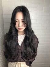 ヘア プロデュース キュオン(hair produce CUEON.)グレージュ×ロング