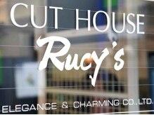 カットハウス ルーシーズ(CUT HOUSE RUCY'S)の雰囲気(ガラス張りの明るく☆アットホームなサロン♪)