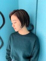 ヘアーアンドメイク ツィギー(Hair Make Twiggy)【twiggy篠崎】 ☆ハイライトショートスタイル☆