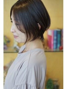 髪型 北川 ショート 景子