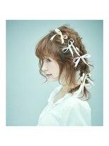 オブヘアー 鷺沼店(Of HAIR)k.リボンアレンジ056