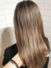 ヘアー アンド ケア コットン(Hair&care cotton)Wカラー×ミルクティーベージュ