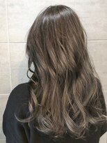 ナナナパレナ 心斎橋店(nanana parena)【髪質改善・艶髪】白髪染めもカラーを楽しむ♪透明感グレージュ