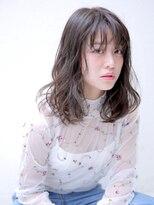 バッテリー ヘアアンドメイク 塚口店(Battery hair&make)抜け感×潤い髪レイヤーミディ