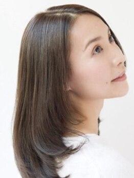 ラヴァッシュ(La Vache)の写真/『年齢を重ねても美しくいられるように…』色モチの良い上品な色味と艶髪で、若々しいスタイルを叶える♪