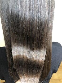 コーボ 柏(COVO)の写真/Trだけでも来店したくなるSALON♪カラーと相性の良いおすすめの髪質改善で楽々サラツヤ☆