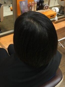 クラブヘアー パッション(CLUB HAIR PASSION)の写真/【沖縄ヘナ使用】特殊な波動を持つ水と合わせて染めることにより、しっかり白髪が染まりモチも良い◎