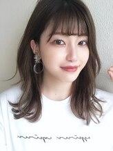 ビューティーコネクション ギンザ ヘアーサロン(Beauty Connection Ginza Hair salon)【赤川敬一】20代30代40代◎大人かわいい韓国シースルーバング